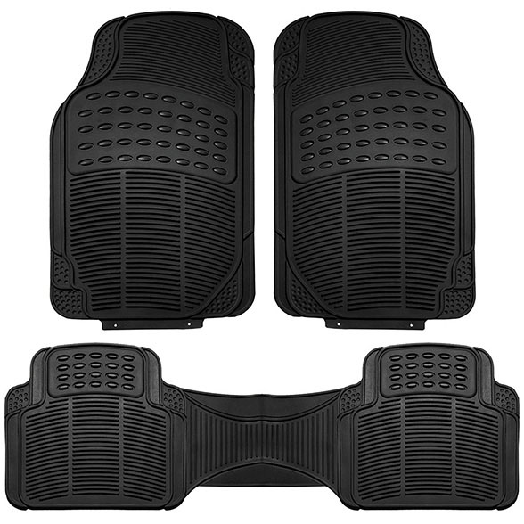 High Quality Vinyl Floor Mats - Front Set