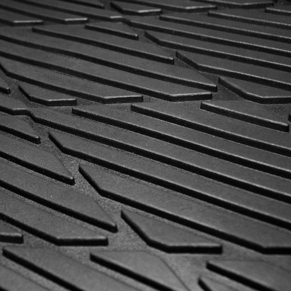 Trimmable Deep Tray Rubber Floor Mats material