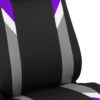 car seat covers FB033102 purple 03
