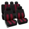 car seat covers FB036115 burgundy 01