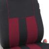 car seat covers FB036115 burgundy 04