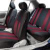 car seat covers FB036115 burgundy 05