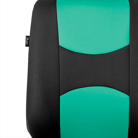 Flat Cloth Seat Covers - Rear material