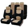 car seat covers FB051115 beigeblack 01