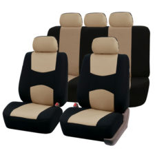 car seat covers FB051115 beigeblack 01