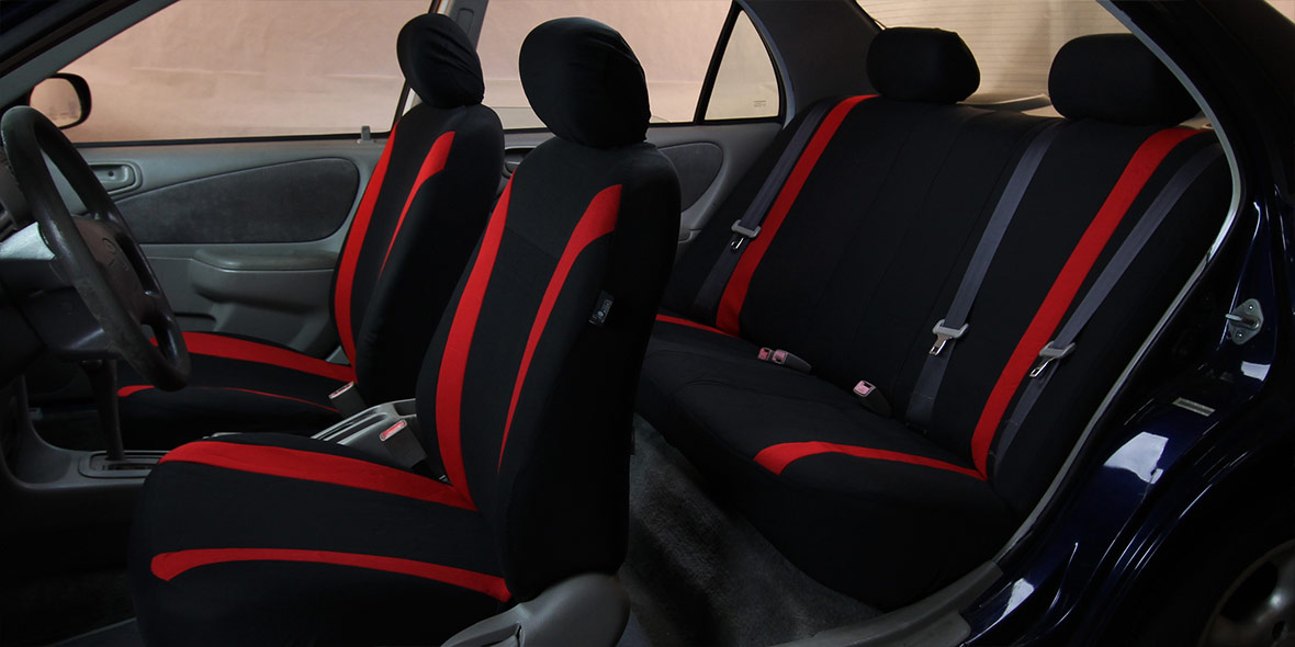 Cosmopolitan Seat Covers - Rear banner