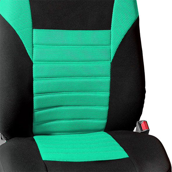 Premium 3D Air Mesh Seat Covers - Rear material