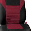 car seat covers FB068102 burgundy 02