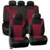 car seat covers FB068115 burgundy 01