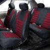 car seat covers FB068115 burgundy 06