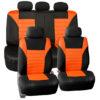 car seat covers FB068115 orange 01