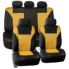 car seat covers FB068115 yellow 01