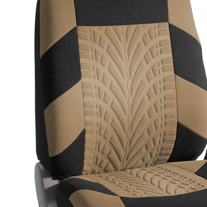 Travel Master Seat Covers - Front material