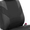 car seat covers FB072115 black 05