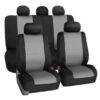 car seat covers FB083115 gray 01