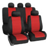 car seat covers FB083115 red 01