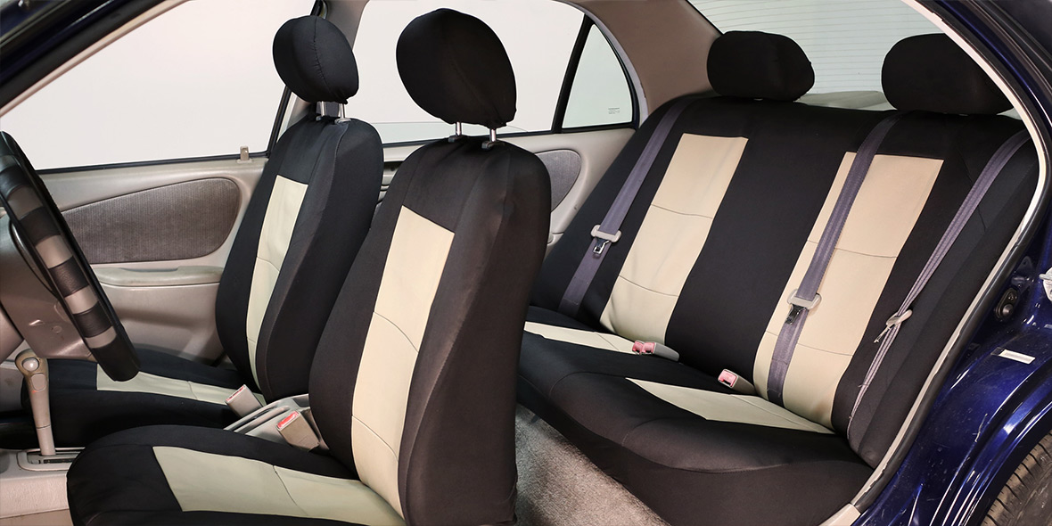 Premium Waterproof Seat Covers - Front banner