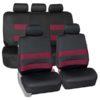 car seat covers FB087115 burgundy 01