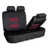car seat covers FB087115 burgundy 04