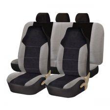 FB103115 gray black seat covers