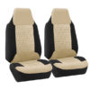FB107217BEIGE suv seat covers detail 2