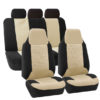 FB107217BEIGE suv seat covers detail 3