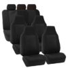 FB107217 black suv seat covers 1