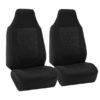 FB107217 black suv seat covers 2