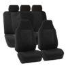 FB107217 black suv seat covers 3