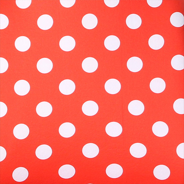 Polka Dot Seat Covers - Front material