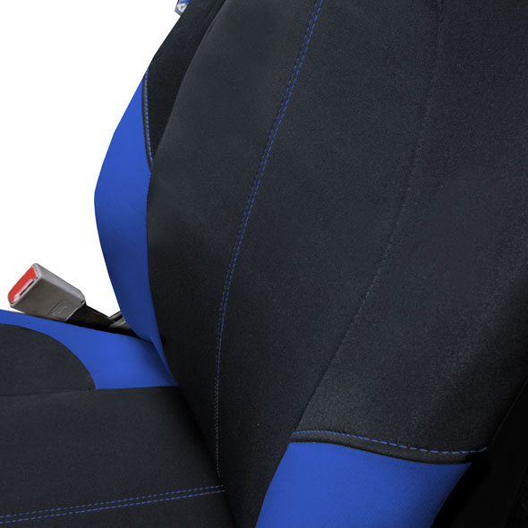 Neo-Modern Neoprene Seat Covers - Front material