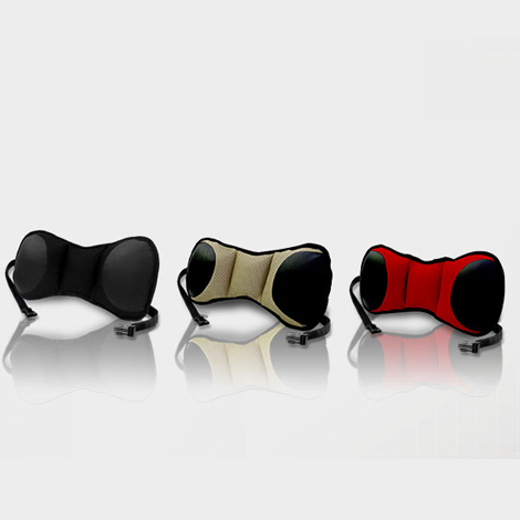 Portable Lumbar Seat Cushion with Strap material