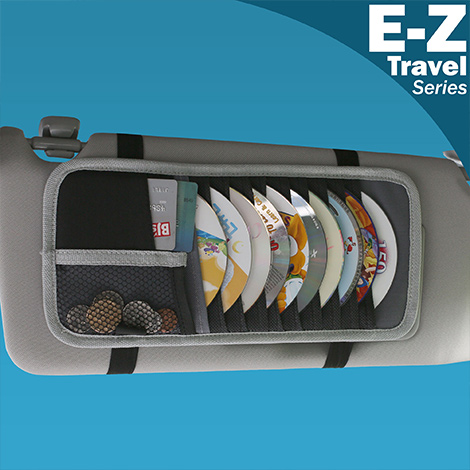 E-Z Travel CD Visor Organizer material