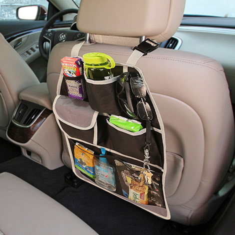 E-Z Travel Car Seat Back Organizer material