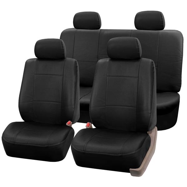 car seat covers PU001114 black 01