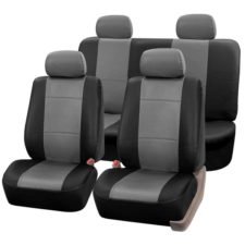 car seat covers PU001114 grayblack 01