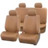car seat covers PU001114 tan 01