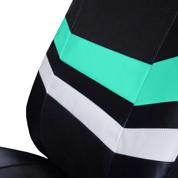 Varsity Spirit PU Leather Seat Covers - Rear material