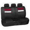 car seat covers PU006115 burgundy 03