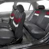 car seat covers PU006115 burgundy 06