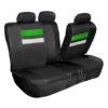 car seat covers PU006115 green 04