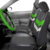car seat covers PU006115 green 06
