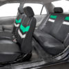 car seat covers PU006115 mint 06