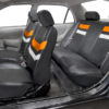 car seat covers PU006115 orange 06