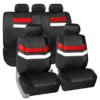 car seat covers PU006115 red 01