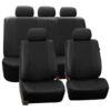 car seat covers PU007115 black 01