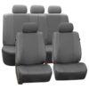 car seat covers PU007115 gray 01