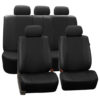 suv seat covers PU007217 black 3
