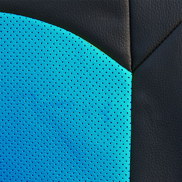Highest Grade Faux Leather Seat Covers - Front material
