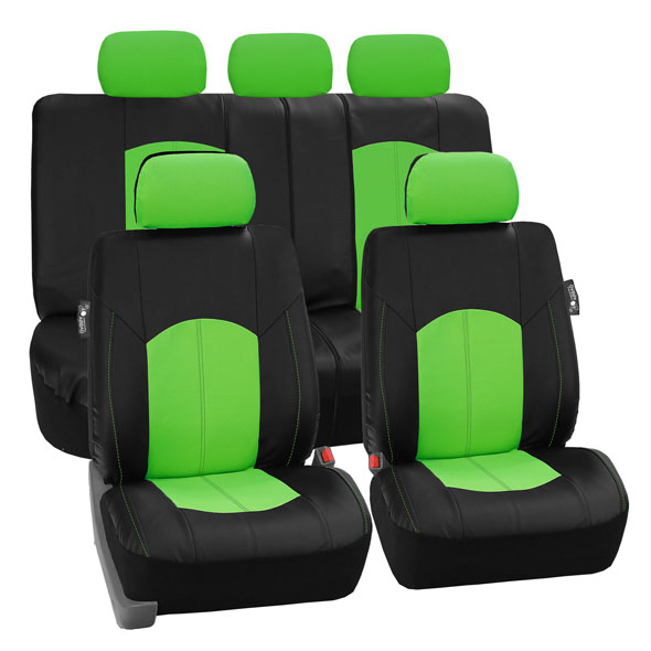 car seat covers PU008115 green 01